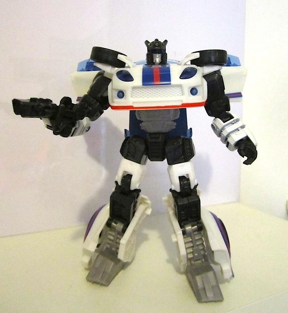 Jazz robot mode