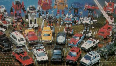 diaclone-car-robot-assortment