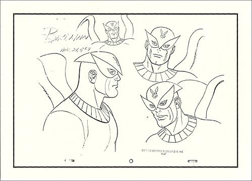 Birdman Sketch