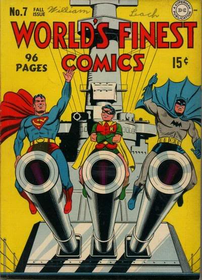 World's Finest comics funny cover
