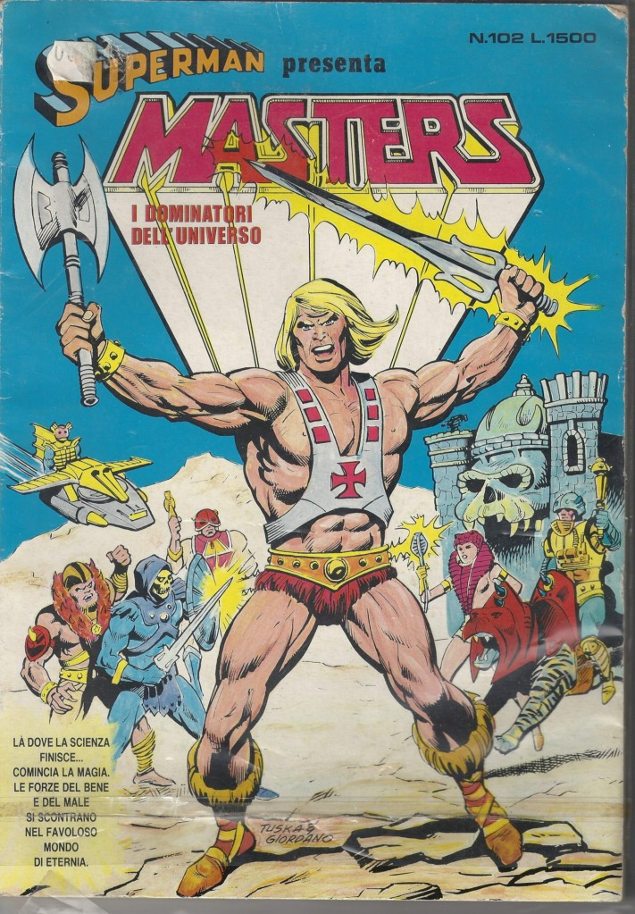 Superman presenta Masters of The Universe