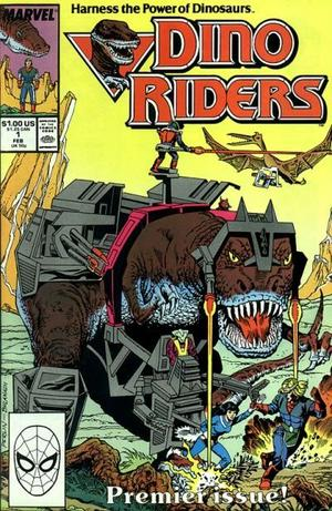 Marvel dino riders 1