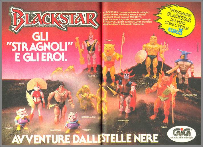 blackstar adv pubblicità cartacea su topolino gli stragnoli