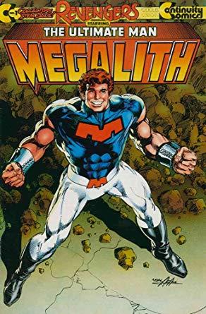 continuity comics megalith